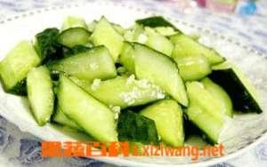 蒜泥黄瓜怎么做 蒜泥黄瓜的做法大全